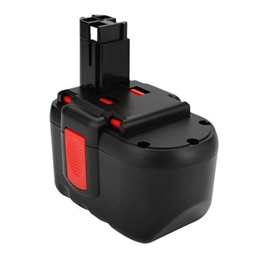 Creabest New 24V 3500mAh Ni-MH Battery for Bosch BAT030 BAT031 BAT240 BAT299 2607335 4462607 335448 2607335 5102607 335561 24V Power Cordless Drill Tool Replacement Battery