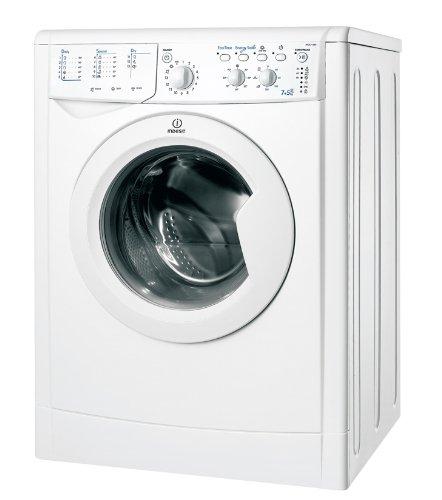 Indesit IWDC 71680 ECO (EU) Autonome Charge avant A Blanc machine à laver avec sèche linge - Machines à laver avec sèche linge (Charge avant, Autonome, Blanc, Gauche, boutons, Rotatif, 52 L)