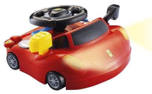 Lexibook - Ferrari - IT600FE - Véhicule Miniature et Circuit - Circuits de Voiture - Voiture de Circuit - Mon Premier Volant Ferrari