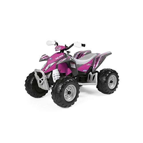 Peg Perego- Quad Polaris Outlaw Pink Power, IGOR0089