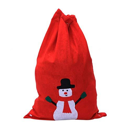 Angoily Bolsas de Saco de Navidad de Santa con Cordón de Tela...