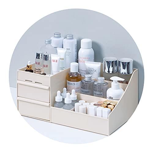 Boîte de Rangement cosmétique de Type tiroir Coiffeuse de Bureau pour Organisateur de dortoir boîte de Rangement en Plastique Support pour Masque et Rouge à lèvres