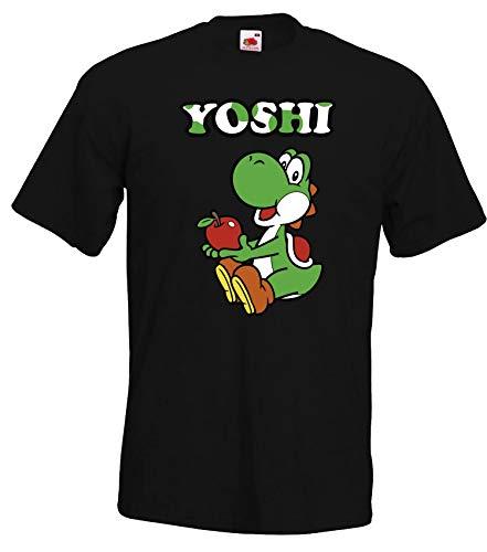 TRVPPY Herren T -Shirt Modell Yoshi - Schwarz M