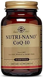 Solgar Pure Nutri-Nano CoQ-10 3.1x Cápsulas blandas - Envase