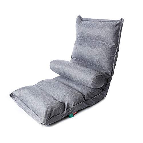 SXFYZCY Bodenstuhl tragbare Faltbare Chaiselongue Einzelstuhl Möbel Wohnzimmer Schlafzimmer verstellbares Bett Lazy...