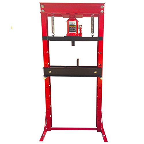 """20 Ton Hydraulic Shop Press Floor Press H Frame Load capacity: 20 ton Overall height: 61"""""""