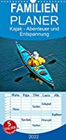 Kajak - Abenteuer und Entspannung - Familienplaner hoch (Wandkalender 2022 , 21 cm x 45 cm, hoch): Kajak, wilde Fluesse bezwingen oder ruhig ueber das Wasser gleiten - Abenteuer und Entspannung. (Monatskalender, 14 Seiten )