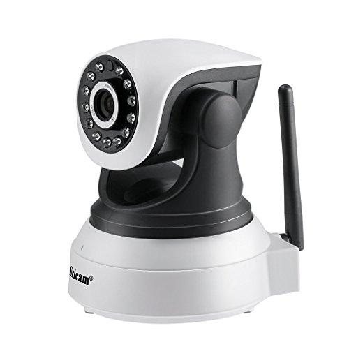 Überwachungskamera, OUTAD 1280*720P HD IP Wifi Kamera mit Mikrofon Lautsprecher, P2P IR Zweiweg Audio Nachtsicht Bewegungsmelder für Zuhause/Baby/Haustiere