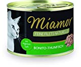 Miamor Feine Filets Naturelle Dose, Bonito-Thunfisch -