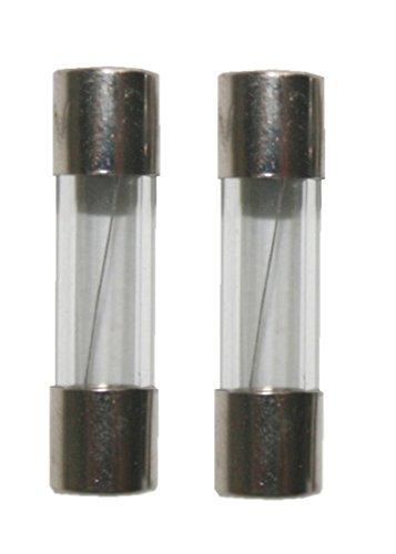 Preisvergleich Produktbild Feinsicherung Glassicherung Sicherung 5x20mm Flink 250V 0, 8A 2 Stück (0011)