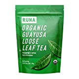 Organic Guayusa Loose Leaf Tea by RUNA, 1 Pound (16oz)   Packed with Natural Caffeine for Clean Energy   Alternative to Yerba Mate, Coffee, and Green Tea