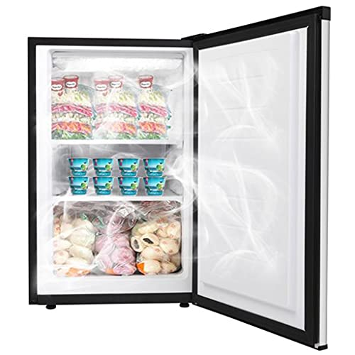 ZOKOP Upright Freezer - 3.0 Cubic Feet Compact Reversible Single Door Vertical Freezer with Adjustable Thermostat and Adjustable Horizontal Leg- Mini Freezing Machine for Office Dorm or Apartment