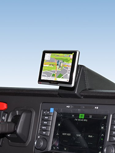 Kuda–Consola de navegación (LHD) para scania R de serie ab17/S de serie AB16en piel sintética NEGRO