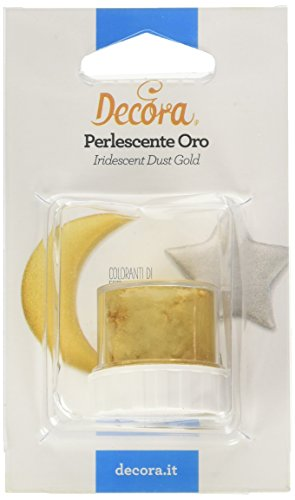 Decora 9261010 Perlescente Decora Oro 3 G