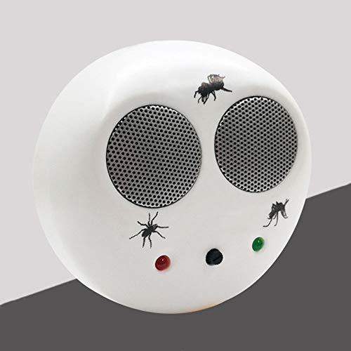 CPHGG Repelente Ultrasónico De Insectos, Enchufe electrónico Repelente de Mosquitos ratón Hormiga cucaracha araña asesina, niños y Mascotas Seguros, no tóxicos, Rango Efectivo de 70 m2