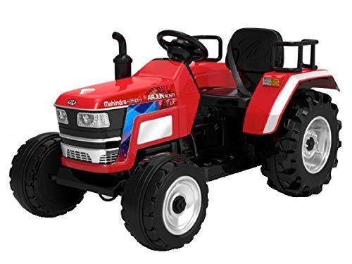 Indalchess Tractor ELÉCTRICO Infantil 12V, Mando RC Parental, Rojo - AC-HL2788