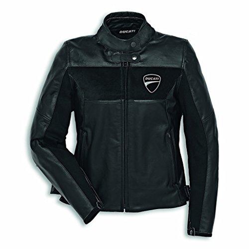 Ducati Company C2 Damen Lederjacke schwarz Größe 44