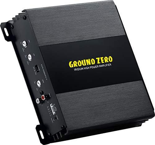 Amplificatore Ground Zero 2 canali GZIA 2080HPX-II 240 watt AUTO ON su high lev in per collegamento ad autoradio senza rca filtro per subwoofer