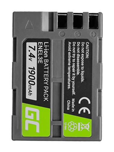 Green Cell® EN-EL3 EN-EL3a EN-EL3e ENEL3 ENEL3a ENEL3e Batería para Nikon DSLR...