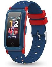 YoYoFit Kids Fitness Tracker met hartslag, activiteitentracker met bloeddruk en bloedzuurstof, gezondheidshorloge met stappenteller, calorieteller, slaapmonitor voor jongens en meisjes cadeau