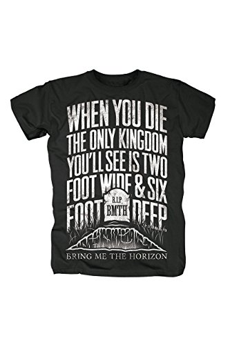 Bring Me The Horizon, Grave T-Shirt [Black] L