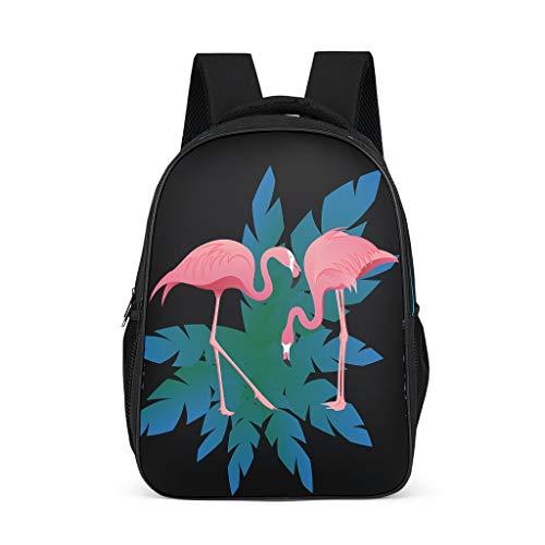 Mochila escolar Flamingo para adolescentes y niños, elegante bolsa de libros para mujeres, mochila para niños, mochila para viajes escolares, Gris brillante., Talla única,