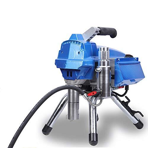 3000W Airless-Spritzmaschine mit Elektronische druckregelnde, 3000PSI Airless Farbsprühsystem für Wandfarben, Lacke & Lasuren, Holz- und Korrosionsschutz