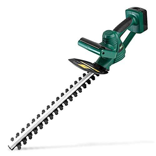 Syczdllj ET1406 18V sin escobillas cortasetos, 18V 2,0 Ah, de 20 pulgadas Longitud de la cuchilla, la cuchilla de doble acción láser y diamante-Planta Blades, 2Ah batería y cargador incluidos cortaset