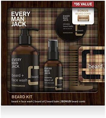 Every Man Jack Beard Kit Sandalwood product image