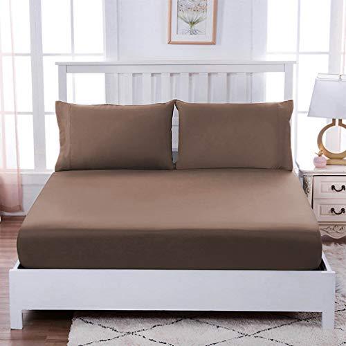Hoeslaken Kussensloop Matrashoes Set Home Hotel Polyester Beddengoed Set Twin 3pcs/set