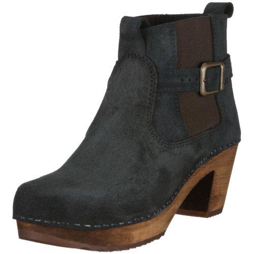 Sanita 454222-2 Peggy-Sue Square Boot, Damen Stiefel, Schwarz (black 2), EU 41