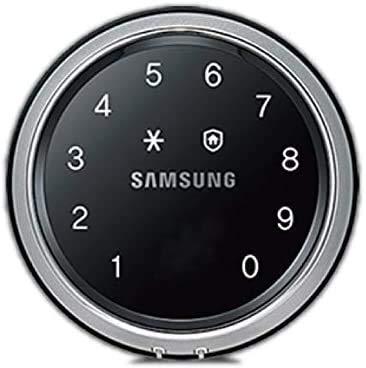 Samsung SHS-D607XMK SHS-D607 - Cerradura para puerta, pantalla táctil, sin llav