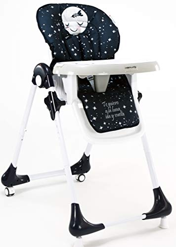 Find Bargain ASALVO 15853 High Chair Chef Moon, Multi-Colour
