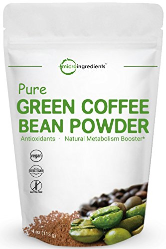Maximum Strength Pure Green Coffee Bean Extract 4 Ounce Super