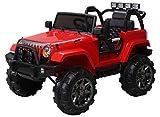 Actionbikes Motors Kinder Elektroauto Offroad Jeep 2 x 35 Watt (Rot)