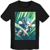 プリント 半袖シャツ メンズ T-Shirt ソニック・ザ・ヘッジホッグ Tシャツ Black S