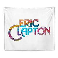 Eric Clapton エリック・クラプトン タペストリー おしゃれ 壁掛け 壁飾り インテリア ウォールアート布ポスター 背景布 多機能 装飾用品 窓の装飾 家飾り オフィス/パーティー/カフェ/雑貨 プレゼント