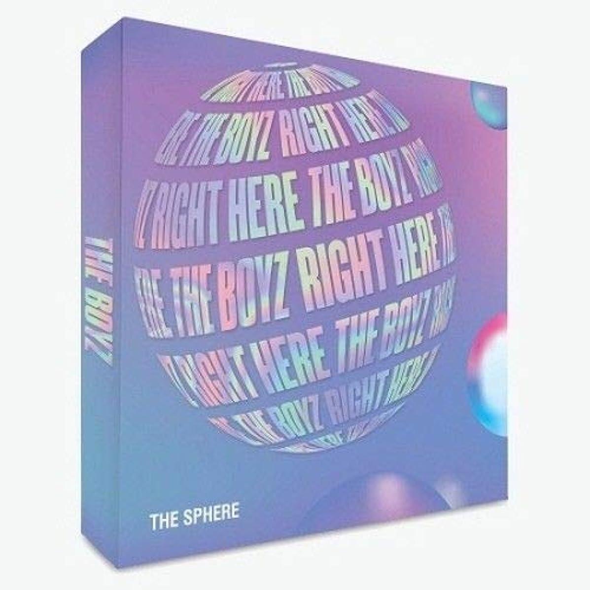 The Boyz-[The Sphere]1st Single Album Dream Ver CD+84p Booklet+1p Paper Frame+2p Post Photo+1p Photo Card+Sticker K-POP Sealed