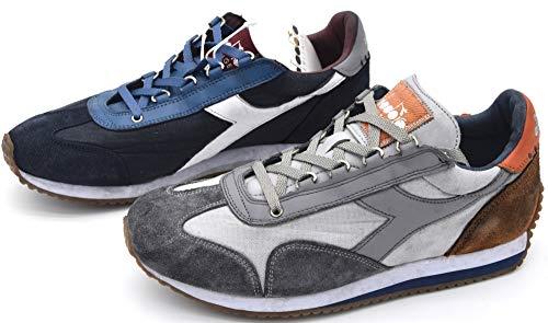 DIADORA HERITAGE Equipe H Dirty Stone Wash Evo - Zapatillas deportivas para hombre
