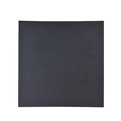 Aibecy 1pc 250 * 250mm Adhesive Heat Bed Tape Sticker Construye la cubierta de la superficie Square Sheet Black 3D Printer Parts