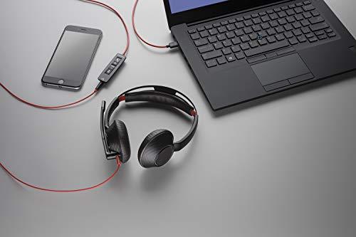 Plantronics C5220 Binaural USB-C und Kopfhörer, 35 mm Schwarz