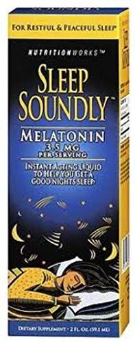 Nutritionworks Sleep Soundly Liquid 2 oz (Pack of 2)