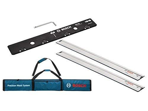 Bosch Professional FSN Tasche für Führungsschienen (mit zwei lang 1600Leitplanken und One lang VEL für Anschluss)