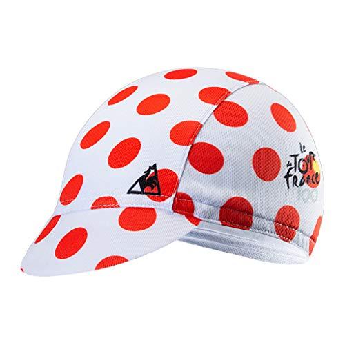 Haorw Cycling Cap - Atmungsaktiv Schnelltrocknend Radmütze Bike Cap Sports Cap für Herren und Damen (Rot)