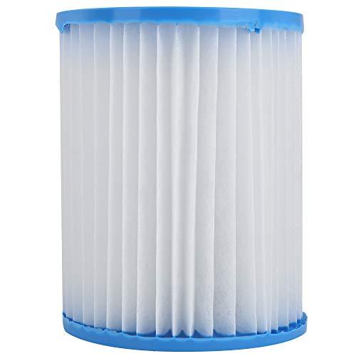Filterkern leichtes Faltwasserpumpenfilterkern Praktisches Reinigungswerkzeug, das in der Filterpumpe installiert ist, um die Reinigung von gebrauchten Rohren zu erfassen