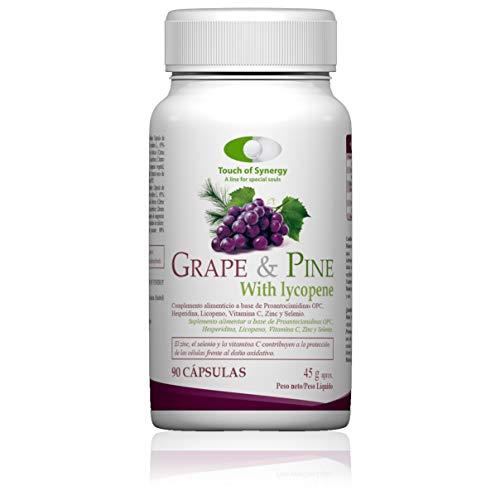 Grape & Pine with Lycopene 90 Capsules