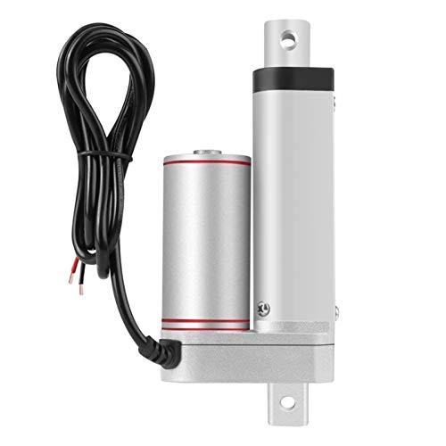 Lruirui-Motor DC Actuador Lineal Eléctrico, para Auto Car Separy Duty Actuator, Controlador de Motor Lineal de 50 mm Levantamiento de 80kg, Larga Vida útil