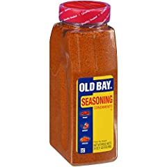 OLD BAY Seasoning features a premium blend of 18 herbs and spices including celery salt, red and black pepper and paprika to add beloved, unmatched taste that enhances any chef-inspired recipe Kosher with no added MSG Our 24 ounce size is perfect for...