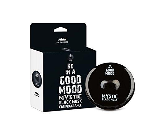 Be in a Good Mood Auto Düfte - ätherische Öle - Entlüfter Diffusor - unangenehme Gerüche beseitigen (schwarz Moschus)