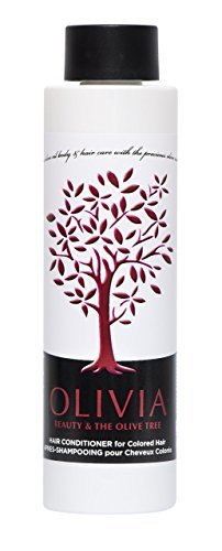 Olivia Olive Beauty : Color Recharge Après-shampoing with Olive Oil, Quinoa Protéines and Sunflower Extract & Provitamine B5, from Greece, 10.1 oz. by Olivia Olive Beauty